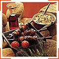 Шашлык с рисом по-балкански