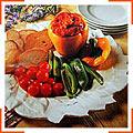 Болгарский перец с соусом