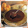 Мусс из горького шоколада