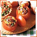 Помидоры, фаршированные кукурузным салатом