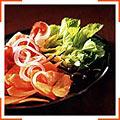Овочевий салат із шинкою