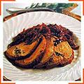 Жаркое из маринованной свинины