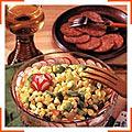 Кукурузный салат со сладким перцем