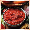 Теплый красный соус