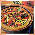 Кукурядзяно-овочевий пиріг