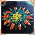 Салат из омаров и спаржи