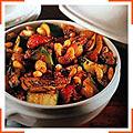 Тушеные овощи по-провански