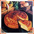 Картопляний пиріг з естрагоном