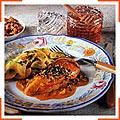 Куриные грудинки с медово-ореховым соусом