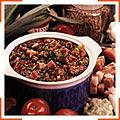 Пикантный суп из чечевицы