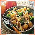 Зити с брокколи и картофелем