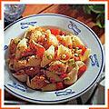 Ракушки с морскими гребешками и базиликом