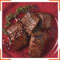 Кусочки говяжьего филе маринованные в соусе харисса
