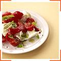 Салат из перца, запеченного на гриле