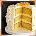 Апельсиновий торт в глазурі з вершкового крем-сиру