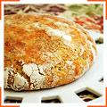 Домашний хлеб с пармезаном и травами