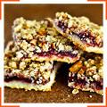Малиново-ореховое печенье