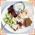 Быстрый ужин по-скандинавски