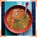 Провансальский овощной суп с писту