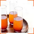 Пряний апельсиновий коктейль з шампанським