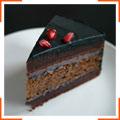 Шоколадний торт з ромом і буряком