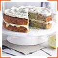 Кабачковий торт з лимонним кремом