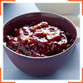Клюквенный соус с корицей и анисом