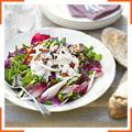 Курячий салат з хрустким беконом