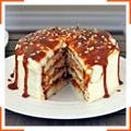 Ванільний торт з дульче-де-лече
