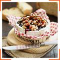 Камамбер с карамелью и греческими орехами