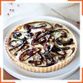 Картопляно-цибулевий пиріг з голубим сиром