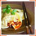 Китайские клецки со свининой и капустой