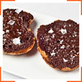 Хлеб с шоколадом и оливковым маслом