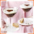 Сливочно-шоколадный десерт с ликером