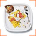Яєчня-бовтанка з копченим лососем та лимонним соусом