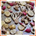 Запеченные овощи с мятой по-мароккански