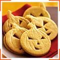 Апельсиновые печенья в форме тыкв