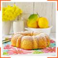 Лимонний кекс з кукурудзяним борошном