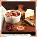 Томатно-сырный спред с базиликом