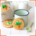 Морквяне печиво з вершковим крем-сиром