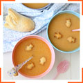 Рыбный суп с крекером