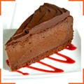 Потрійний шоколадний чізкейк