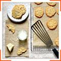 Овсяное печенье с белым шоколадом и кокосом