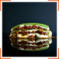 Лазанья болонъезе со шпинатом
