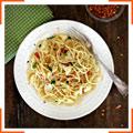 Спагетти с цветной капустой и гремолатой