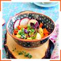 Салат из запеченной моркови и пастернака