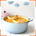 Холодний суп із сквошем і каррі