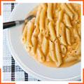 Макарони в вершково-сирному соусі з гірчицею