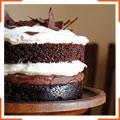 Шоколадно-м'ятний торт
