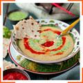 Рисовый крем-суп с грибным карри